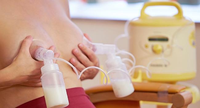 Количество молока у кормящей мамы