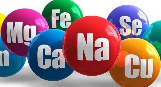 Химические элементы, важные в здоровье человека
